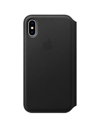 Чехол для iPhone Apple iPhone X Leather Folio Black